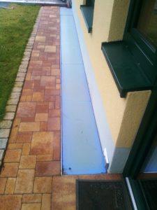 Boden aus Glas